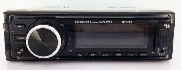 Fixed Panel Car MP3 USB SD FM Bluetooth RDS  MP3-6227 5 -