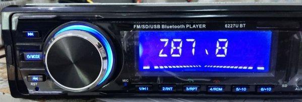 Fixed Panel Car MP3 USB SD FM Bluetooth RDS  MP3-6227 6 -
