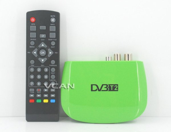 Mini HD DVB-T2 Home H.264 Set Top Box with USB support PVR 1 -