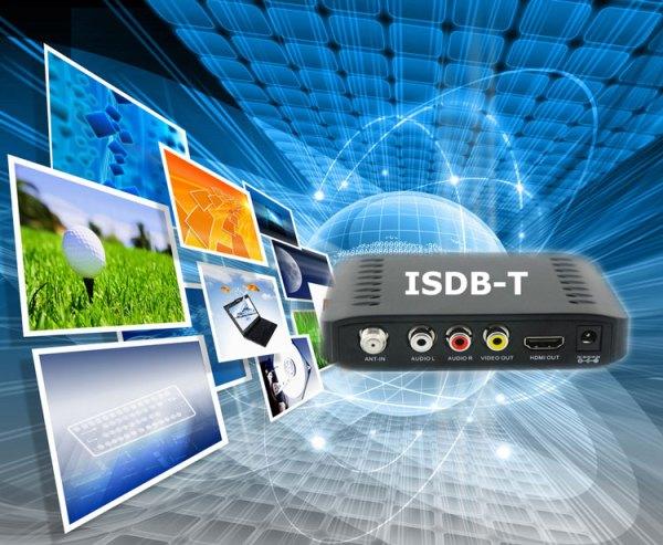 VCAN1092 Car ISDB-T Philippines Digital TV Receiver black box MPEG4 HDMI USB PVR Remote 5 -