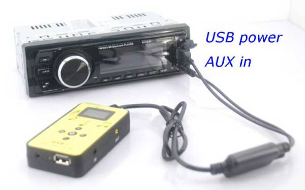 DAB digital radio receiver dab plus tuner Antenna USB power AUX input music changer 3 -
