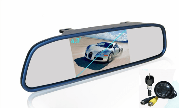 """REARVIEW MIRROR WITH 4.3"""" TFT AND CAMERA VCAN1432 1 -"""
