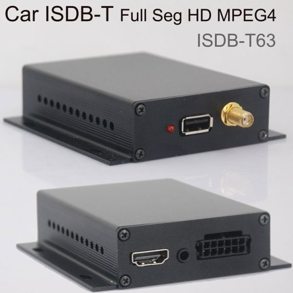 Car ISDB-T High Speed Digital TV Full segment HD ISDBT Receiver for Brazil Peru Paraguay Philippines free Antenna ISDB-T63 1 -