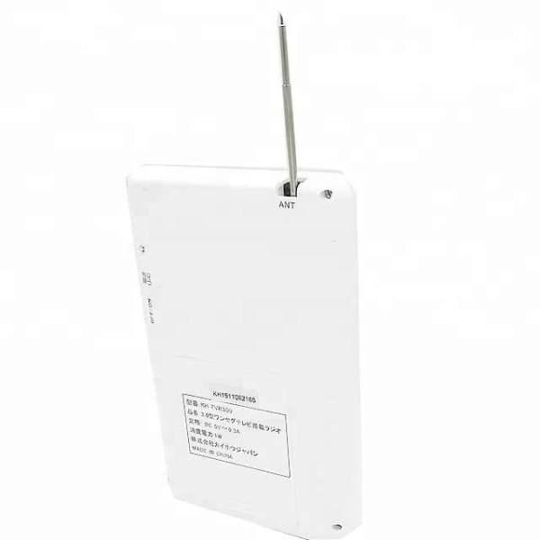 one seg tv am fm radio 3.2 inch monitor Portable digital isdb-t tv Pocket TV with speaker earphone output 2 -