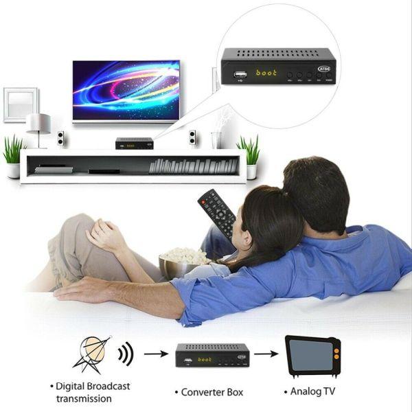 Mexico ATSC TV Receiver Digital TV MPEG4 HDMI USB PVR VCAN1078 for USA Canada 3 -