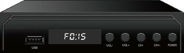 Mexico ATSC TV Receiver Digital TV MPEG4 HDMI USB PVR VCAN1078 for USA Canada 4 -