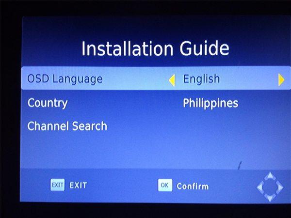 HD FTA ISDB-T receiver tv tuner Terrestrial for Brazil Argentina Chile Venezuela Costa Rica Philippines 4 -