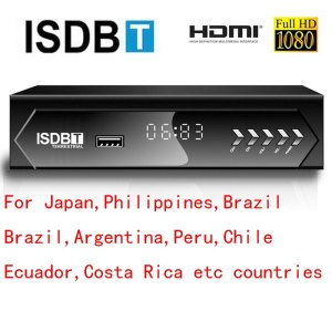 HD FTA ISDB-T receiver tv tuner Terrestrial for Brazil Argentina Chile Venezuela Costa Rica Philippines