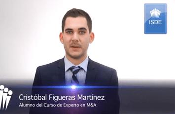 Testimonio de Cristóbal Figueras sobre el Curso de Experto en M&A.
