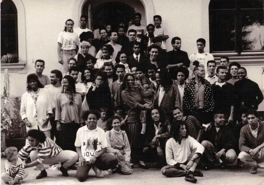 Historisches Gruppenfoto der ISD