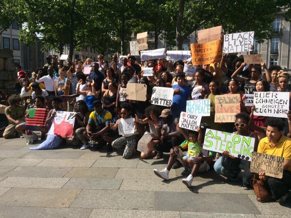 Black Lives Matter Kundgebung in Köln