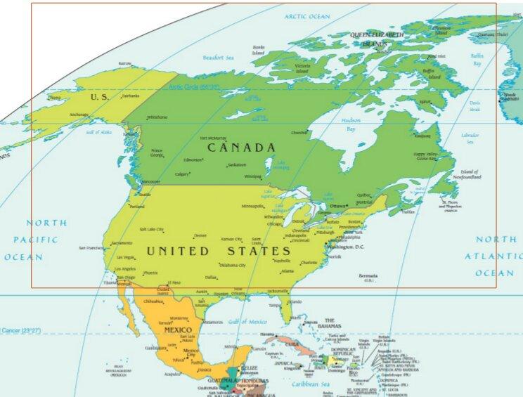 north america naro region