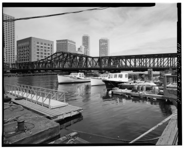 Fort Point Channel Bridge Boston 5