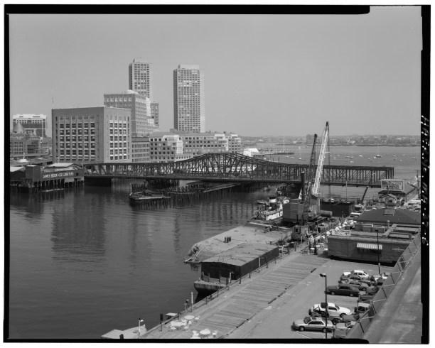 Fort Point Channel Bridge Boston 6