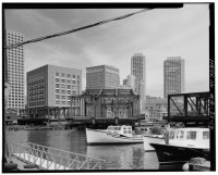 Fort Point Channel Bridge Boston 7