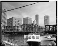 Fort Point Channel Bridge Boston 8