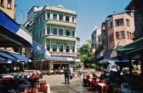 Istanbul beautiful square restaurants