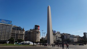 Buenos Aires obelisk tower
