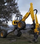 spider excavator hire in
