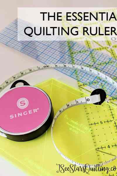 Quilting rulers are essential in the sewing room for quilting and DIY projects. which ones are absolutely essential so you don't spend a fortune? Read here www.iseestarsquilting.com
