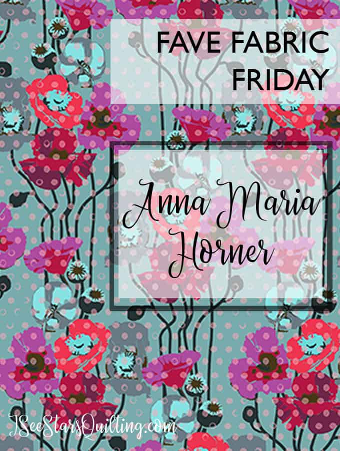 Quilting tips and Anna Maria Horner all in one sewing blog. Amazing inspiration at www.iseestarsquilting.com