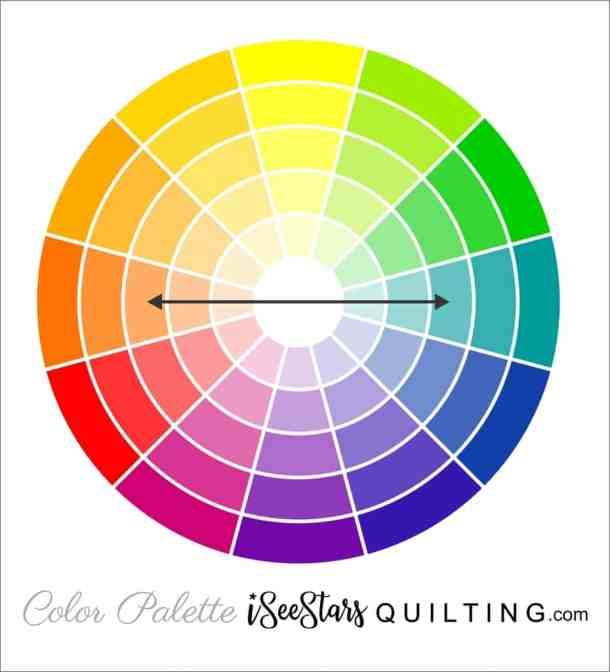 Quilt Color Chart - ISeeStarsQuilting