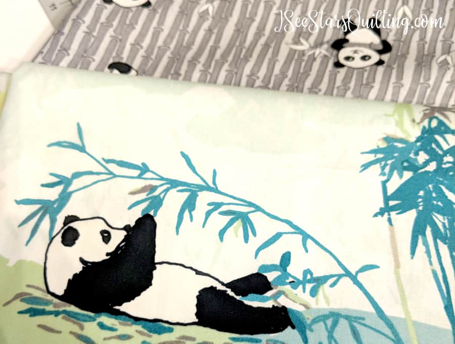 Panda Fabric - Sewing Room Challenge