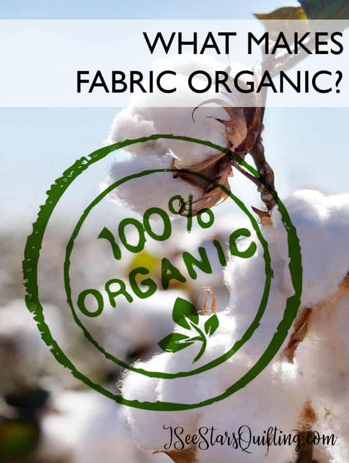 What makes fabric organic? Whats the deal? Is it a scam? Is it worth the extra price? -- All your questions answered!...read more