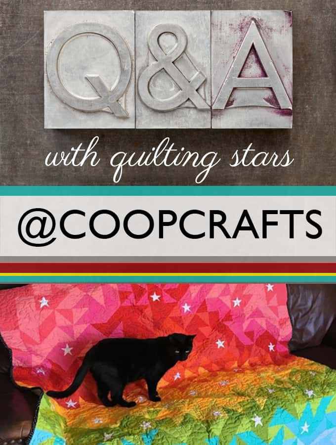 Q&A with Quilting Stars: CoopCrafts