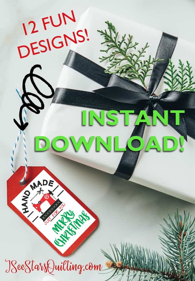 Add a little spice to your Crafty/DIY gifts this year with this instant download that you can print at home! 12 different designs and a whole lot of Christmas fun! USE CODE: HOLLY FOR 25% off!