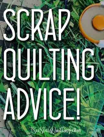 If you're looking to take your level of creativity to a new level, check out my advice on scrap quilting as well as some of my favorite resources for amazing patterns and ideas!