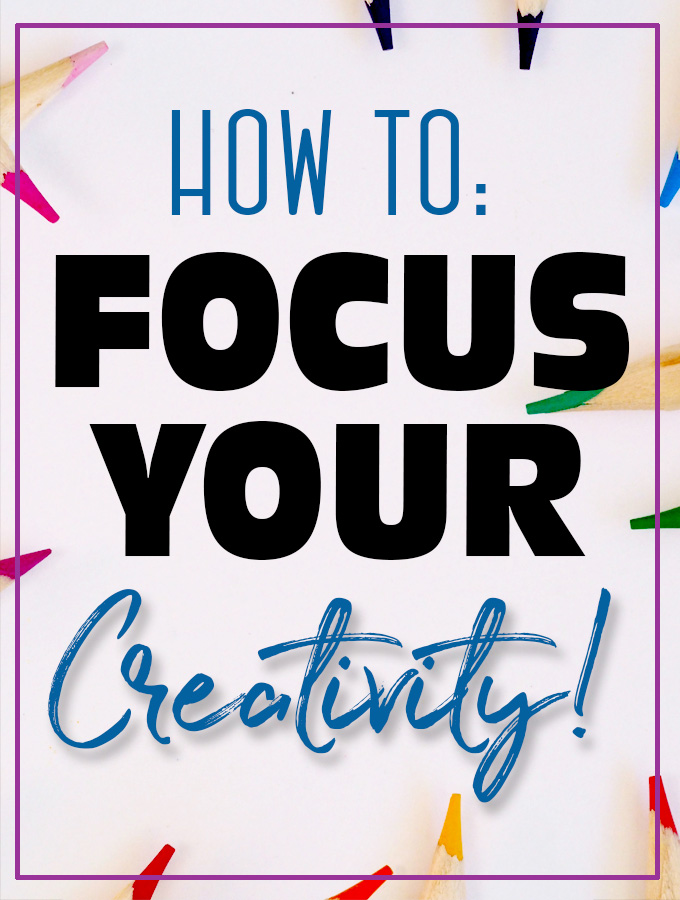Feeling like you have Shiny Object Syndrome? Check out these 5 tips to Maintain your Creative focus and be your MOST productive self!