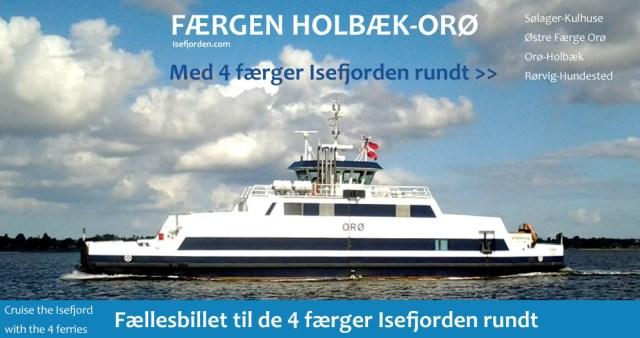 Link til de 4 Færger - Isefjorden rundt