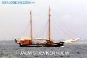 HJALM stævner imod Holbæk. Foto Isefjorden.com