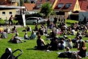 Børnekoncert på Murerpladsen i Holbæk 2017. Arr: Den levende børnekultur