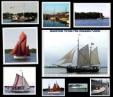 Collage med maritime fotos fra Holbæk Fjord - Isefjorden.com