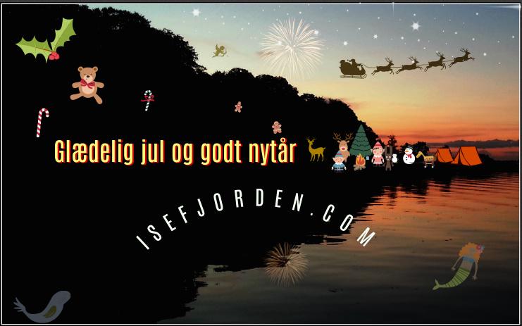 Isefjorden ønsker glædelig jul og godt nytår