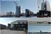 Collage med fotos fra Holbæk havnefront April 2019 - Isefjorden.com