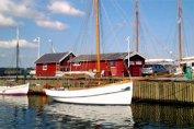Foto fra Holbæk gammel havn