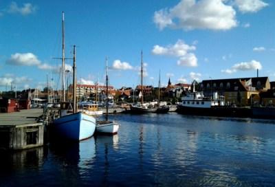 Holbæk gammel havn. Foto: Isefjorden.com