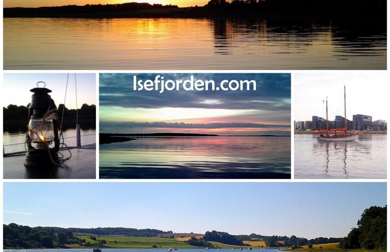Collage med fotos fra Isefjorden - Ophavsret