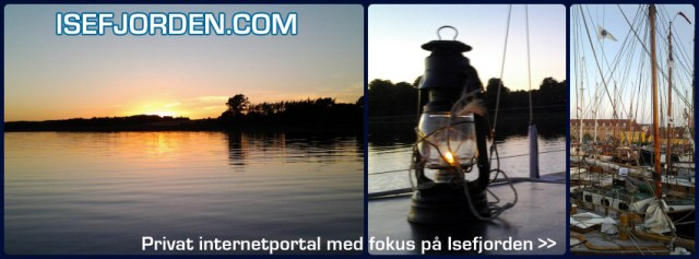 Holbæk Fjord - Solen går ned. Isefjorden.com