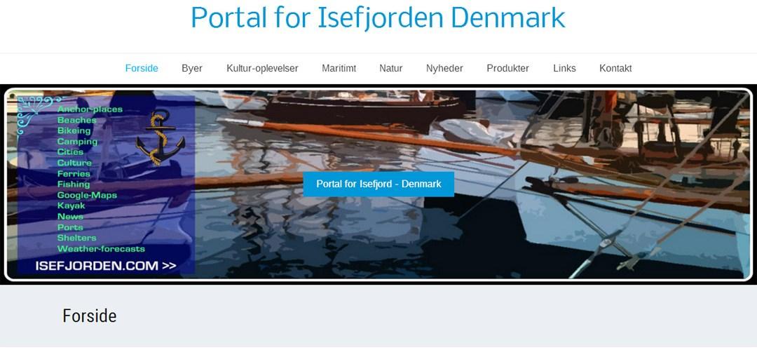 Hjemmesiden Isefjorden.com