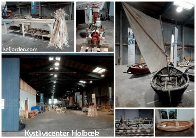 Collage med fotos fra Kystlivscenteret i Holbæk af Isefjorden.com