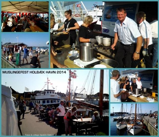 Muslingefest på Holbæk gammel havn 2014
