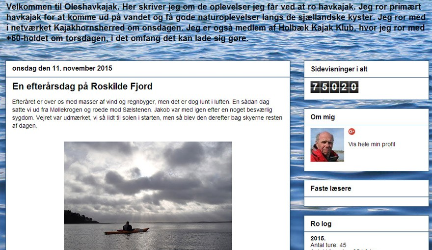 Bloggen Ole's havkajak