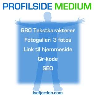 Profilside medium - Isefjorden.com