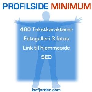 Profilside minimum - Internetportalen Isefjorden.com
