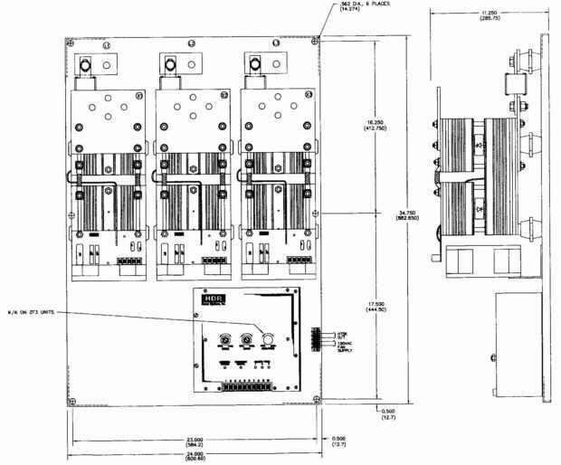 ISE, Inc. > Three Phase > PF3 SCR Power Control, Three