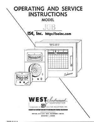 ISE, Inc. > Obsolete Manuals > Installation and Operation